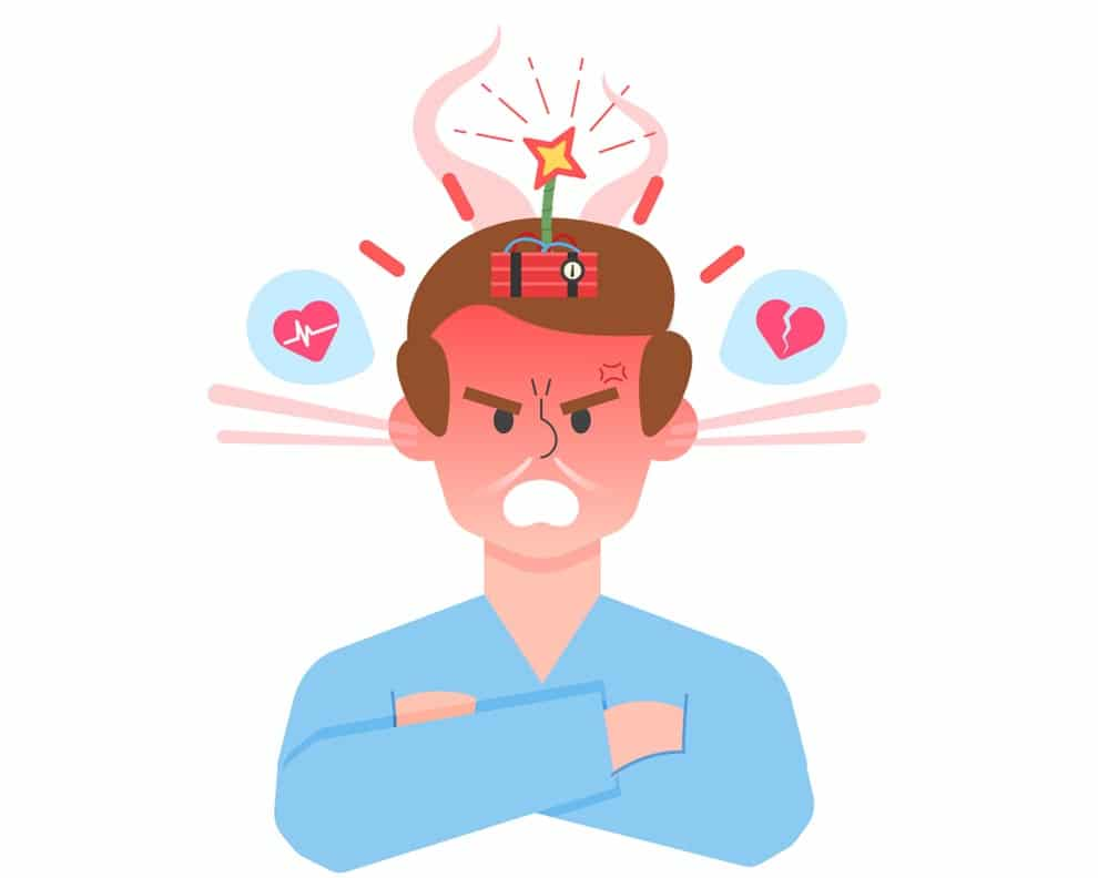 Suppressing our emotions can cause a lot of damage