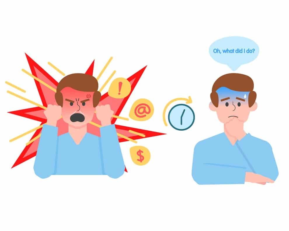 Exploding In Anger Often Leads to Regret Later On