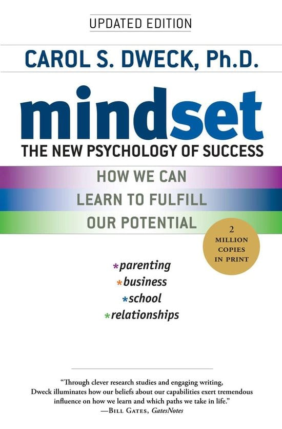 Mindset: The New Psychology of Success by Carol Dweck Summary