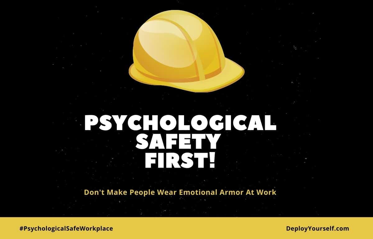 Psychological Safety Comes Before Performance