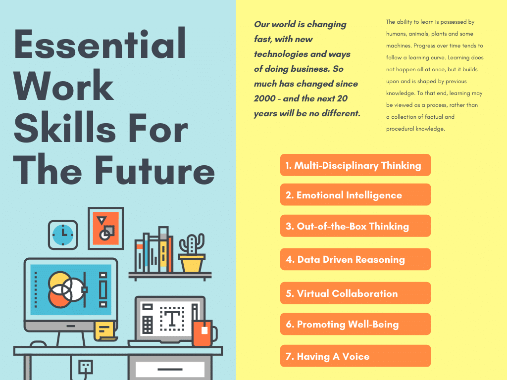 7 Essential Work Skills For The Future - 2020s And 2030s