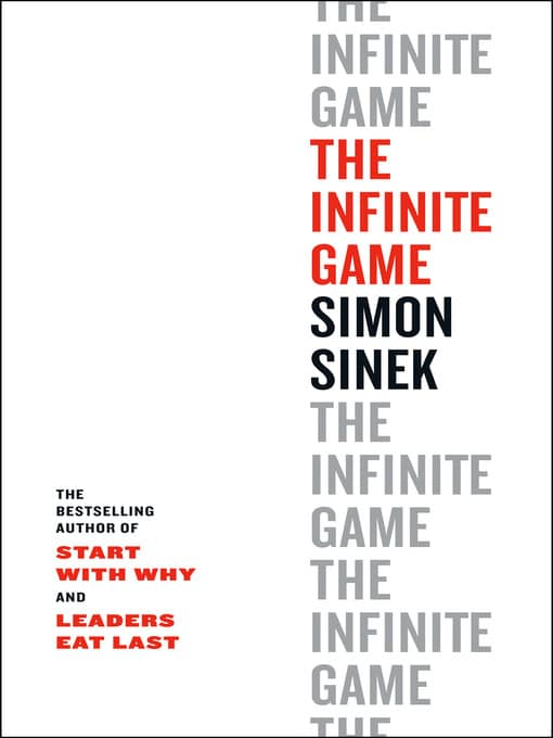 The Infinite Game Book by Simon Sinek
