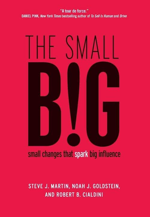 The Small Big by Steve J Martin, Noah J Goldstein, and Robert B Cialdini