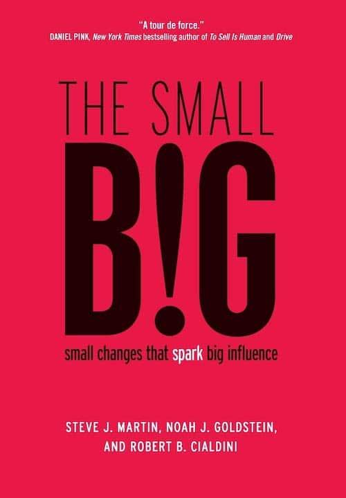 The Small Big by Steve J Martin, Noah J Goldstein, and Robert B Cialdini