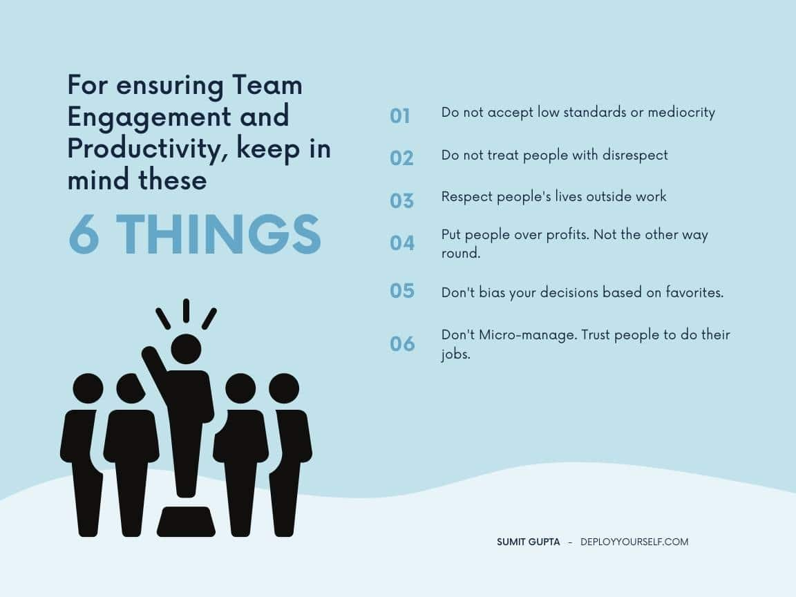 6 Things You Must Not Do As a Leader To Ensure High Team Performance