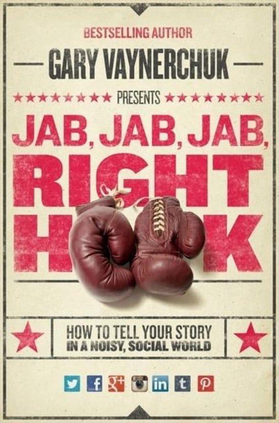 Jab, Jab, Jab, Right Hook  by Gary Vaynerchuk - Book Review & Summary