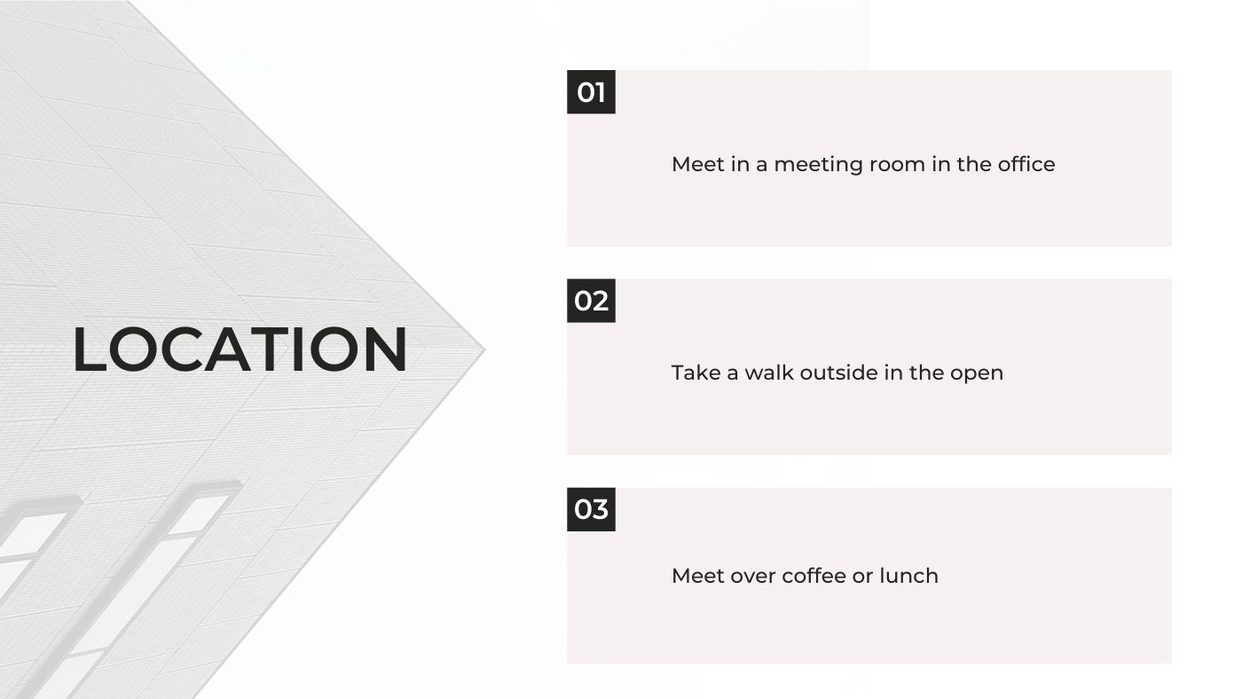 One on One Meetings Guide